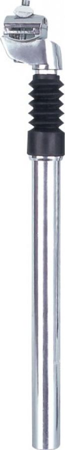 Штырь подседельный c амортизатором D-27, 2, L-300 мм, ход-40 мм, алюминий.