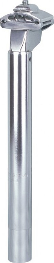 Штырь подседельный, алюминиевый., D-28, 6 мм, L-300 мм, с креплением для седла.