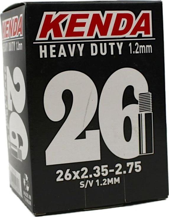 Камера 26x2.35-2.75, Extreme стенка 1.20 мм a/v велокамера kenda 26 x3 00 для downhill a v