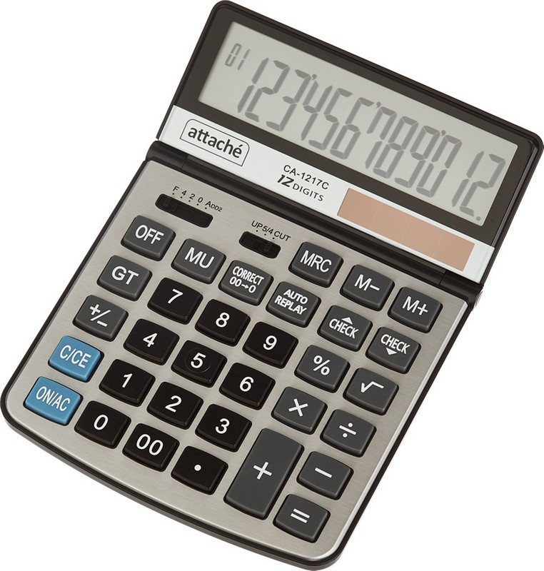 Attache Калькулятор настольный CA-1217C
