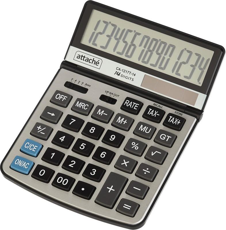 Attache Калькулятор настольный CA-1217T
