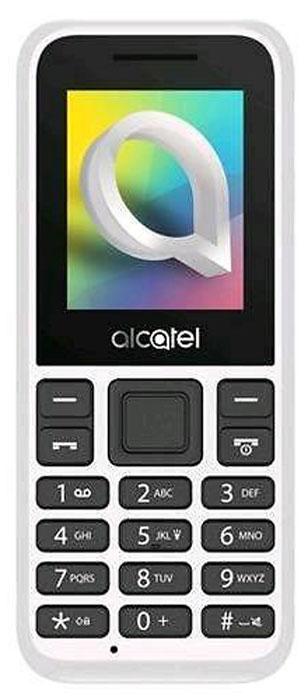 Мобильный телефон Alcatel 1066D, белый мобильный телефон alcatel 1054d белый 1054d 3balru1