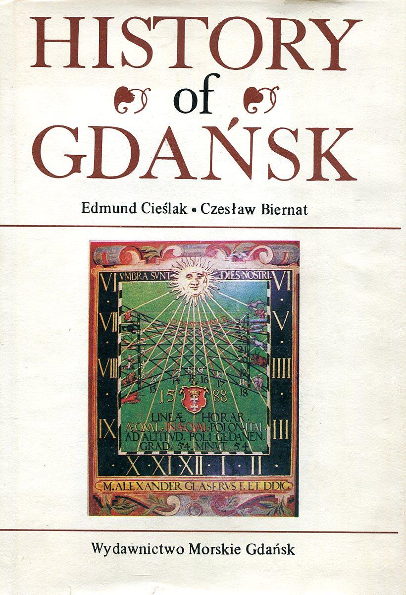 Edmund Cieslak, Czeslaw Biernat History of Gdańsk цена