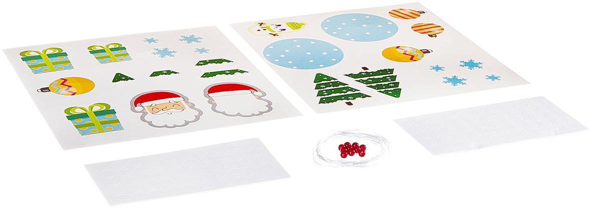 Bondibon Набор для декорирования Гирлянда Новый год набор для декорирования bondibon копилка в технике декопатч зайчик арт 0002 вв1693