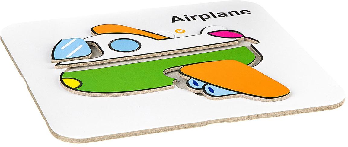 Bondibon Водная раскраска-пазл Самолет