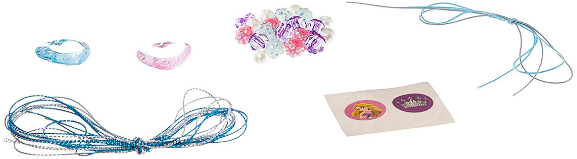 Bondibon Набор для создания украшений Eva Moda Браслеты для принцессы