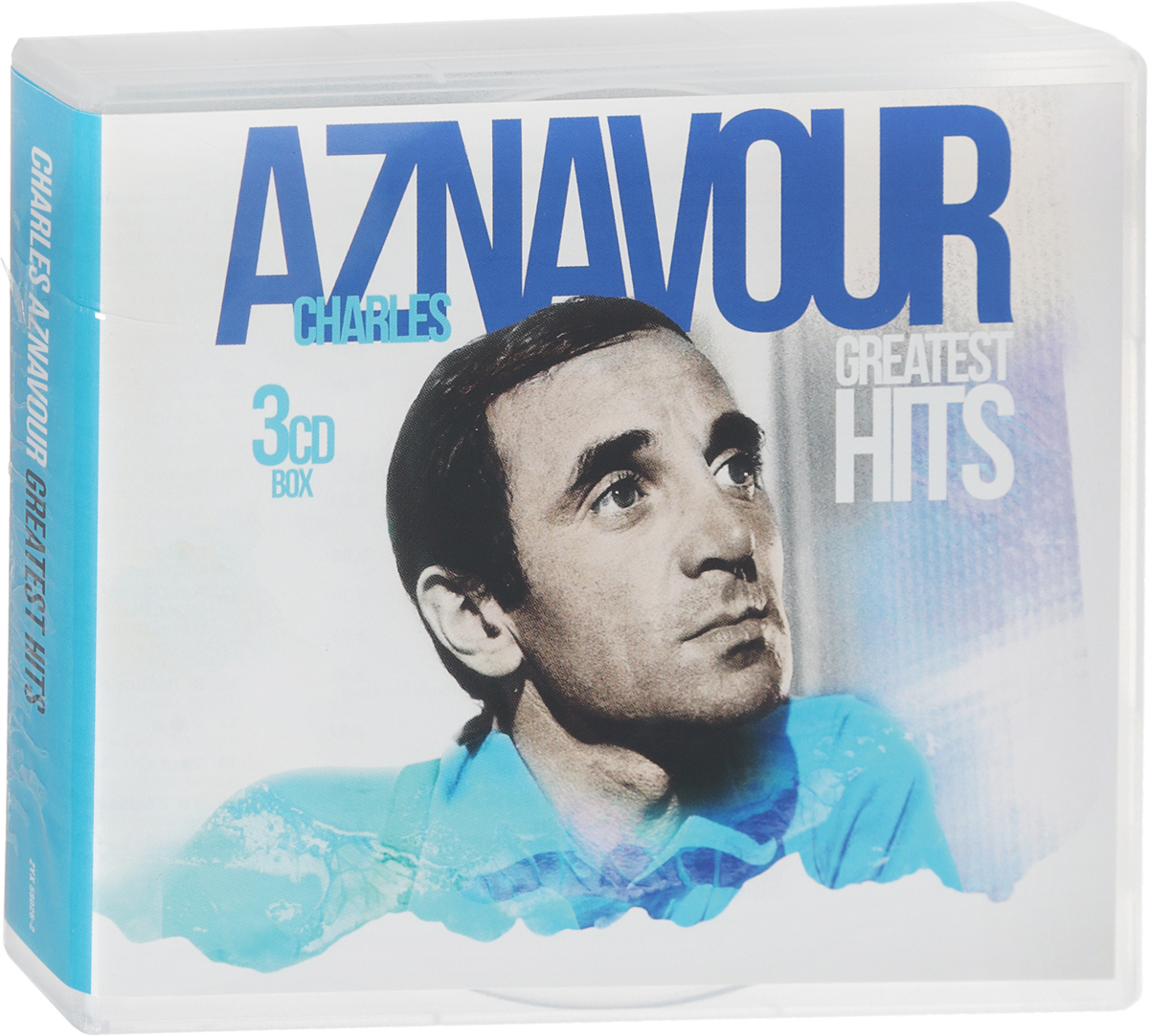 Шарль Азнавур Charles Aznavou. Greatest Hits (3 CD) queen greatest hits cd