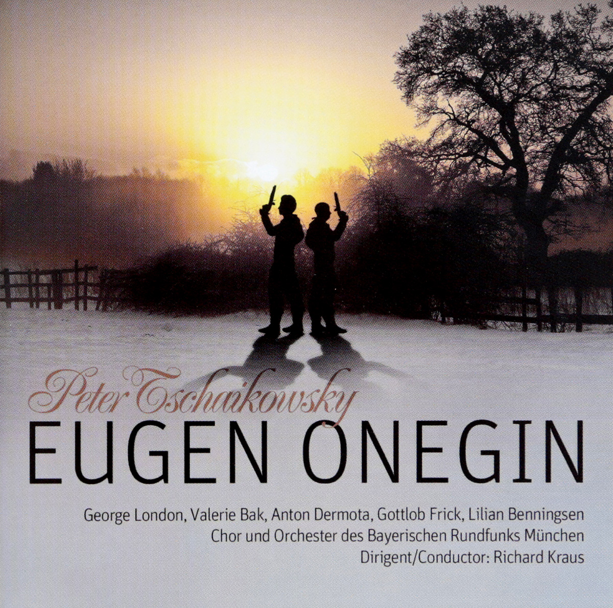 Петр Чайковский Peter Tschaikowsky. Eugen Onegin (2 CD) чайковский щелкунчик 2 cd