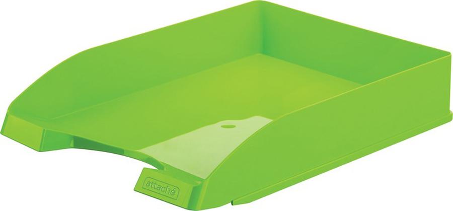 Attache Лоток для бумаг Fantasy цвет зеленый ручка attache harmony 0 5 mm