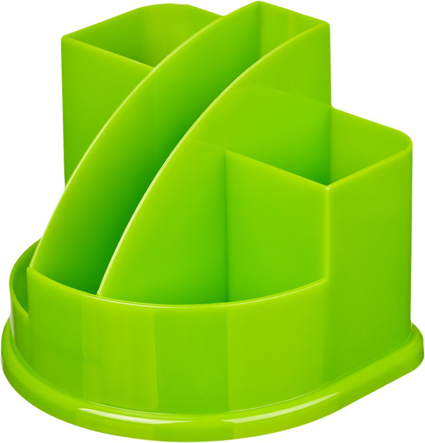 Attache Подставка для канцелярских принадлежностей Fantasy цвет зеленый ручка attache harmony 0 5 mm