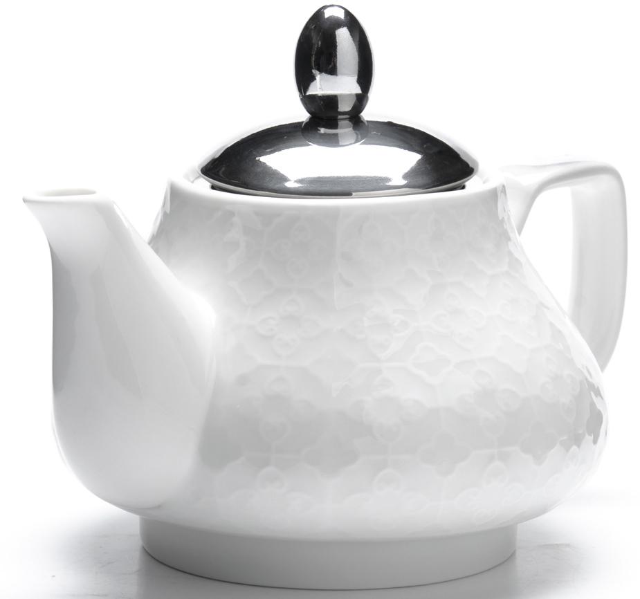 Чайник заварочный Loraine, цвет: белый, 750 мл. 26591-1 чайник заварочный loraine lr 24849 1