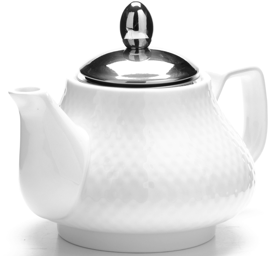 Чайник заварочный Loraine, цвет: белый, 750 мл. 26593-1 чайник заварочный loraine lr 24849 1
