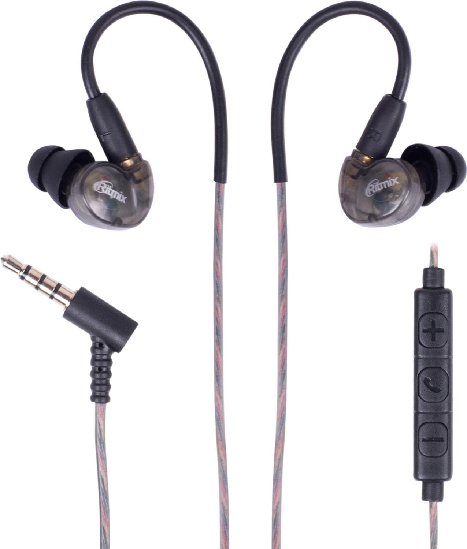 Беспроводные наушники Ritmix RH-445 CBTH, черный цена и фото