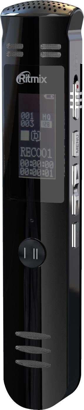 Диктофон Ritmix RR-190 8 Gb, Black цена