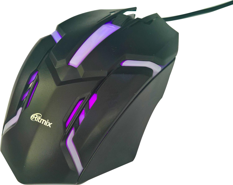 Мышь Ritmix ROM-305, Black