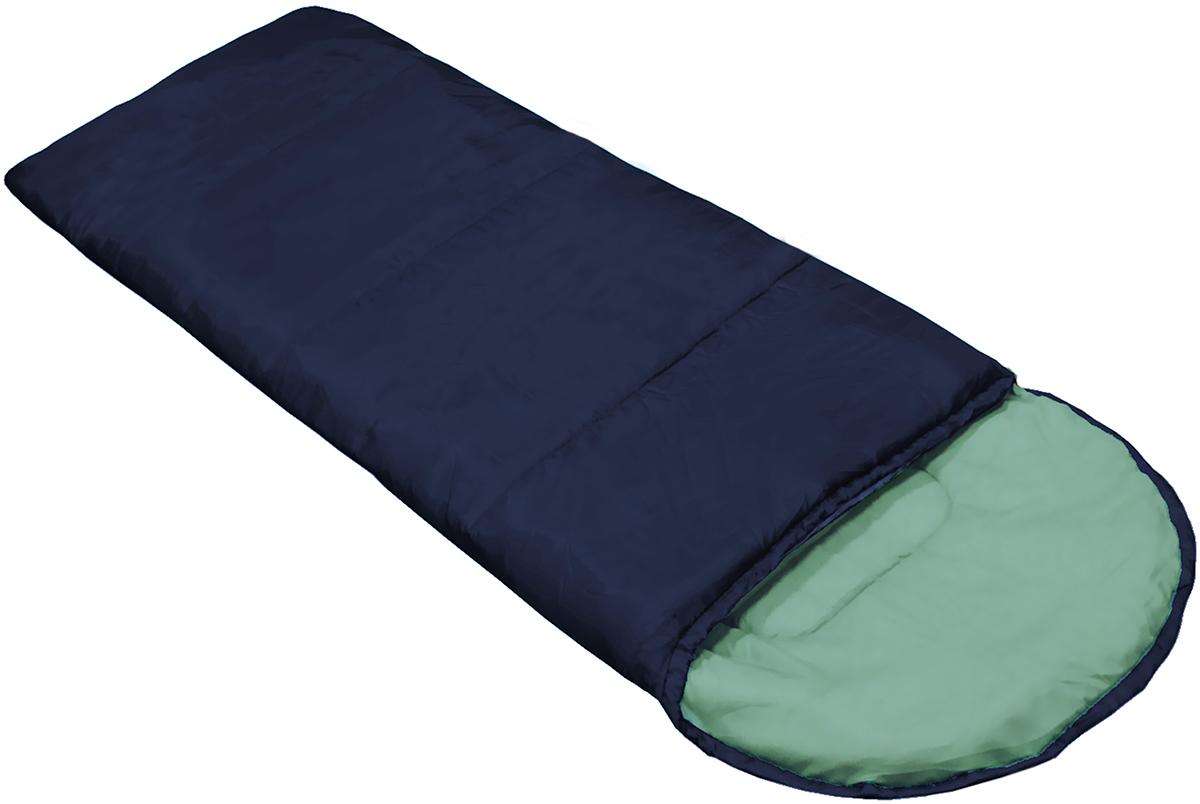Спальный мешок Picrest, с утеплителем, цвет: темно-синий, 190 х 75 смСП2Спальный мешок Picrest СП2 - это бюджетный вариант спального мешка для кемпинга. Идеально подойдет для краткосрочных пикников. Комфортный подголовник на кулиске имеет возможность утягивания по окружности, образуя собой капюшон для дополнительного утепления. Кроме того, имеется возможность состегивания между собой двух аналогичных спальных мешков.Вес мешка 1,3 кг Рекомендуем!