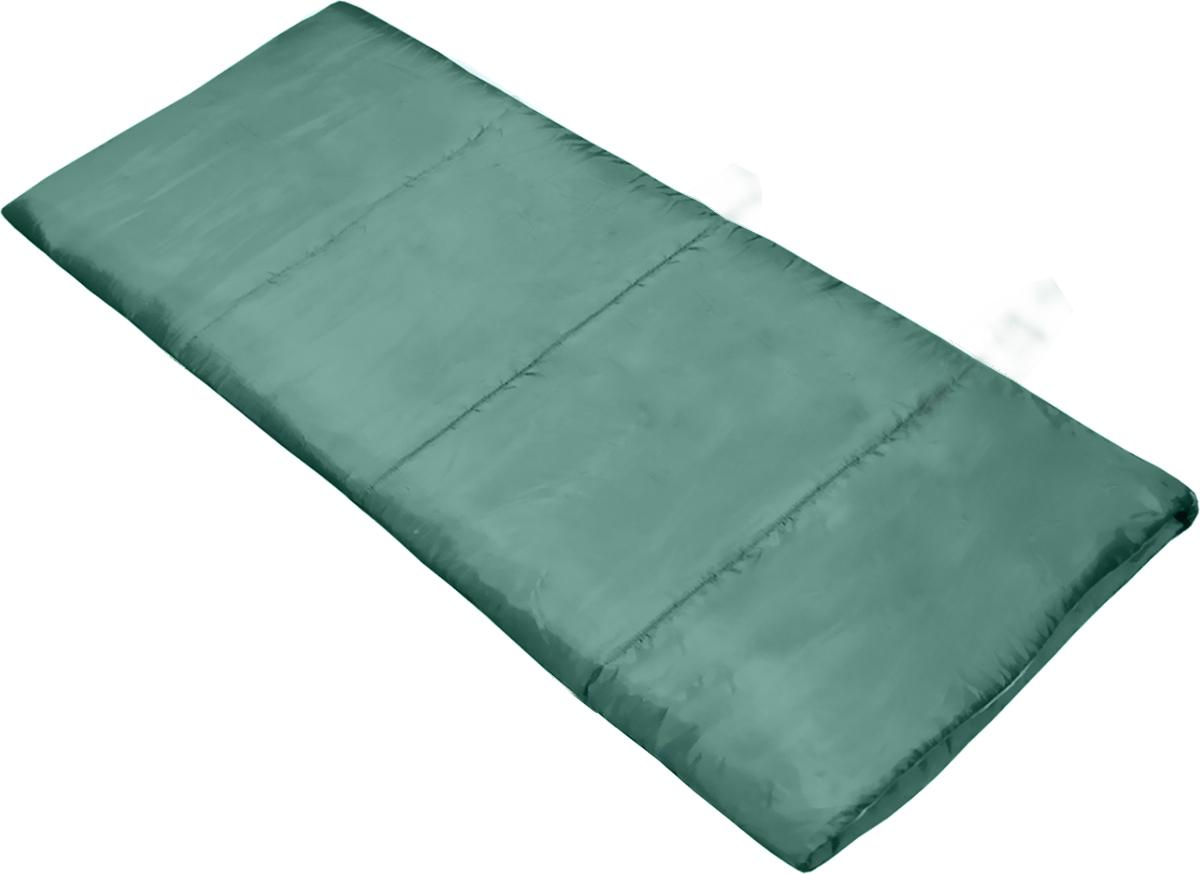 Спальный мешок Picrest, цвет: темно-зеленый, 180 х 75 см