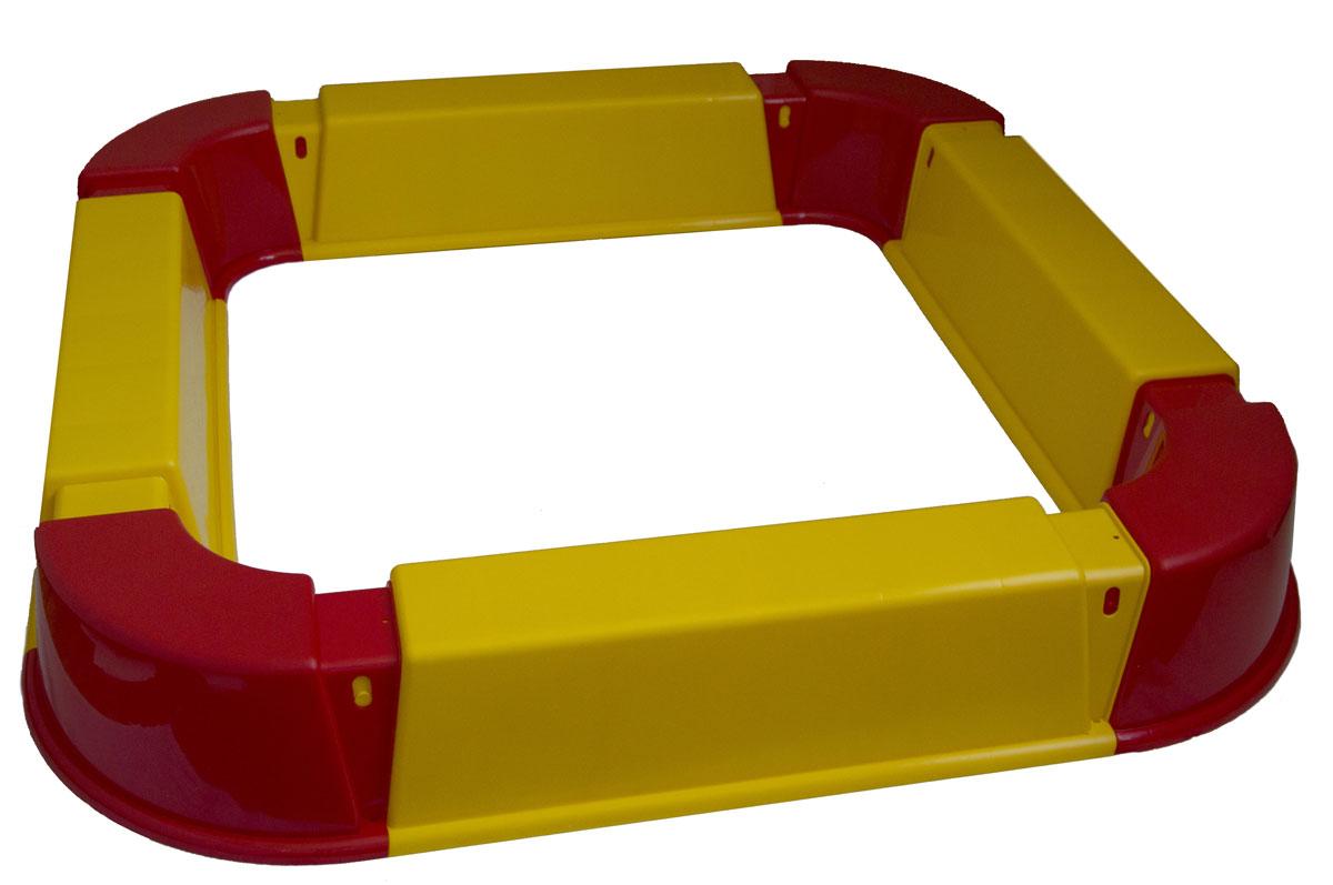 Песочница из модулей PicnMix, цвет: красный, желтый