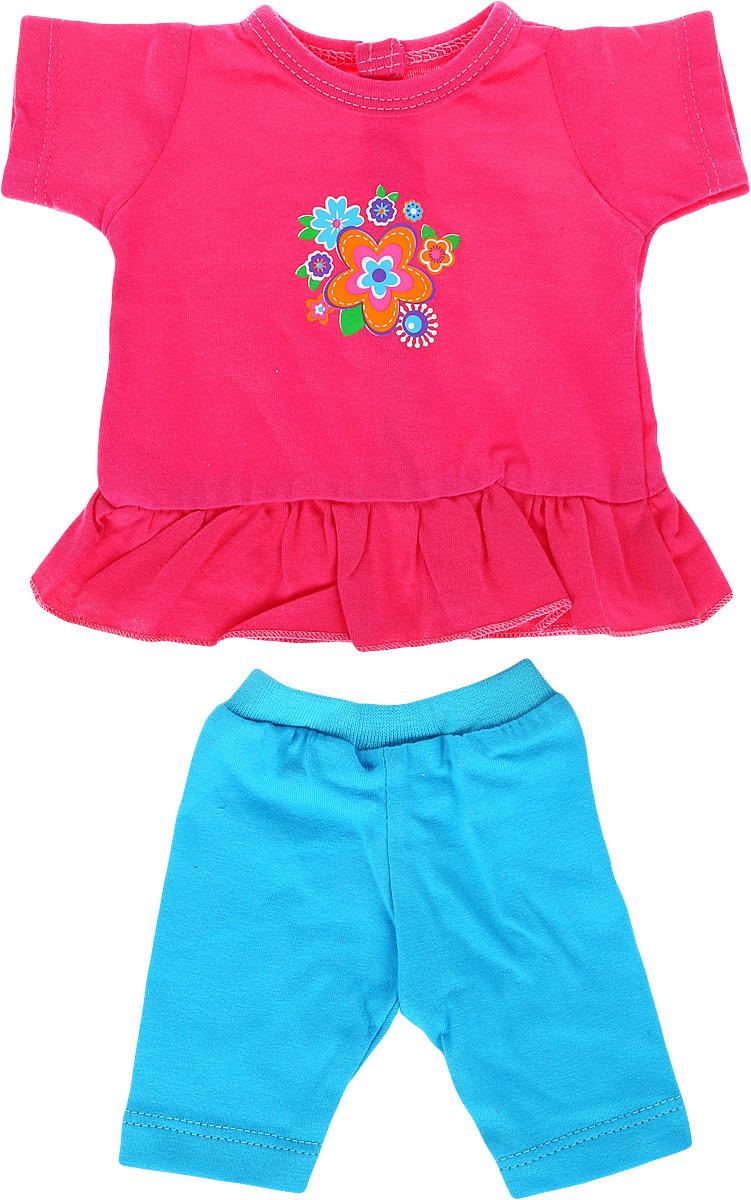 Mary Poppins Одежда для кукол Туника и леггинсы Цветочек mary poppins одежда для кукол футболка и шорты зайка