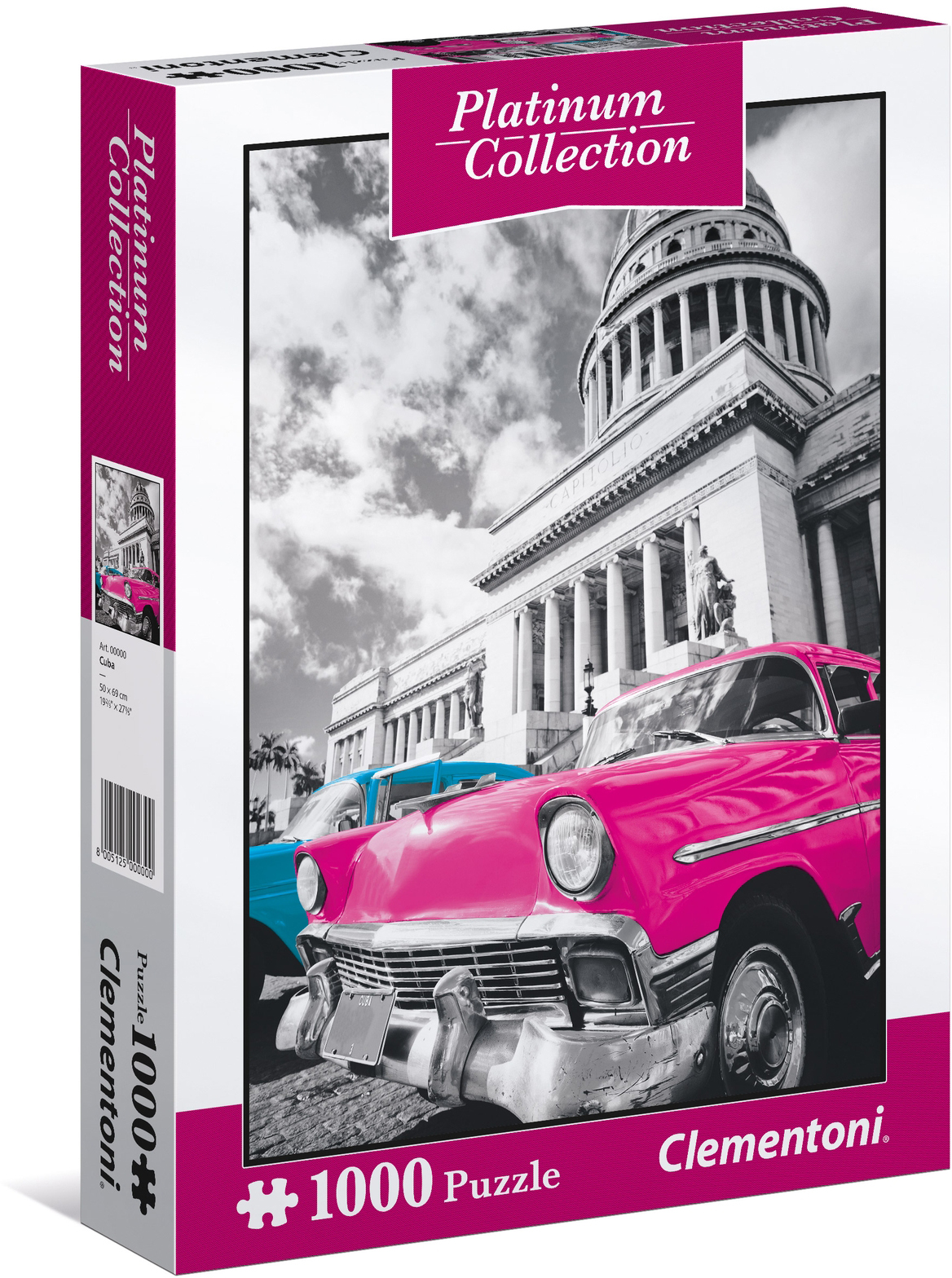 Clementoni Пазл Куба 1000 элементов пазл французский парусник clementoni 1000 деталей