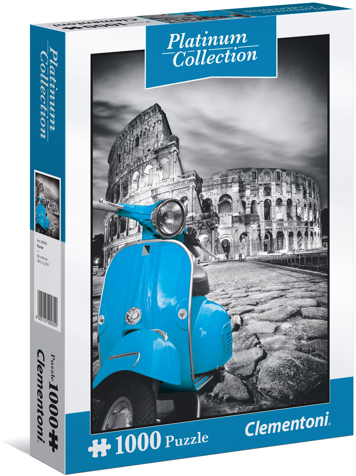 Clementoni Пазл Колизей 1000 элементов пазл французский парусник clementoni 1000 деталей
