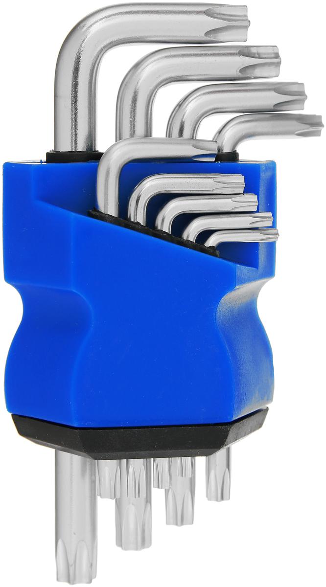 Ключи MOS Torx, T10-T50, 9 шт бита hazet torx t10 2223 t10