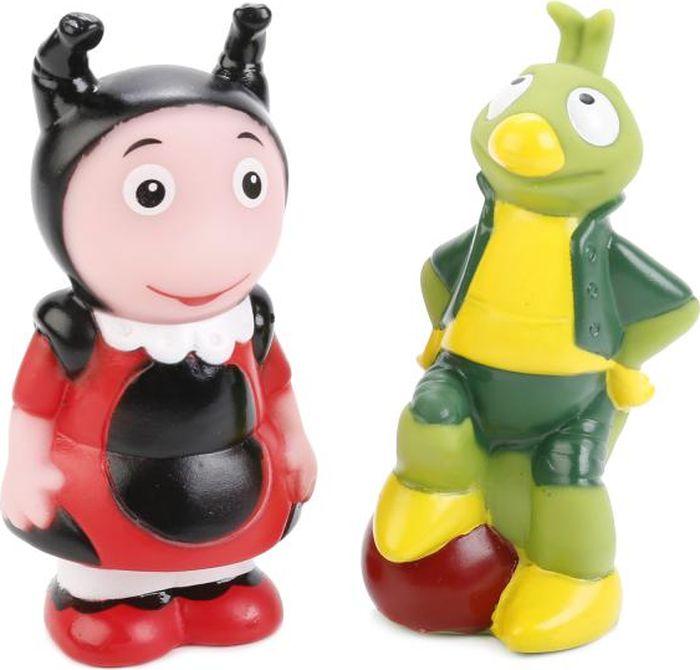Играем вместе Набор игрушек для ванной Мила Кузя 171R-PVC-LU играем вместе набор игрушек для ванной белоснежка и гномы 3 шт