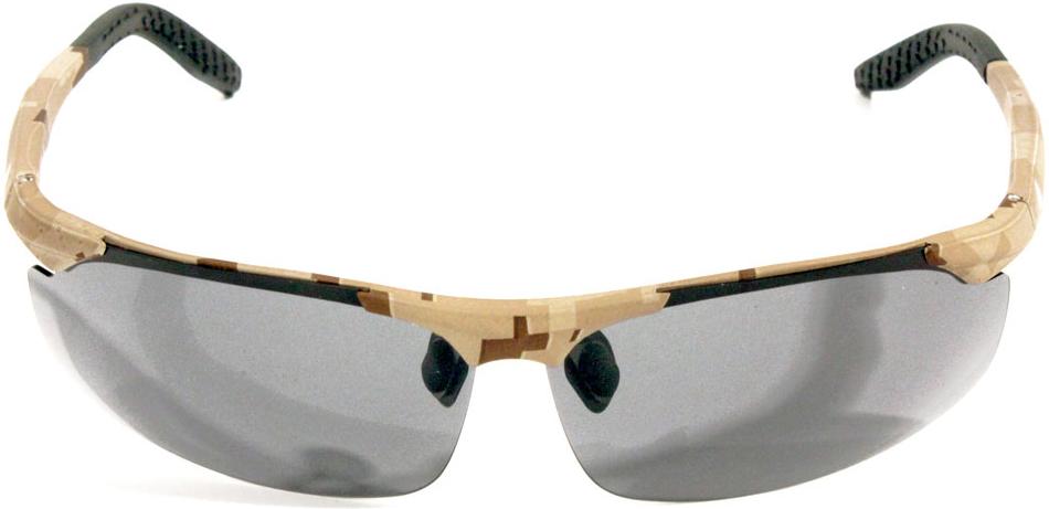 Очки поляризационные Woodland Fisherman, цвет: бежевый поляризационные очки guideline viewfinder copper