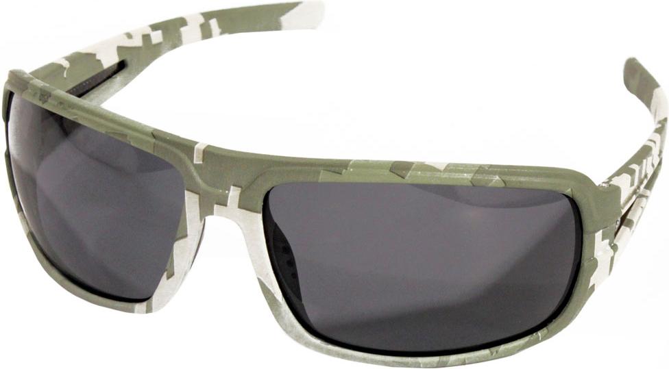 Очки поляризационные Woodland Strike, цвет: зеленый поляризационные очки shimano tribal
