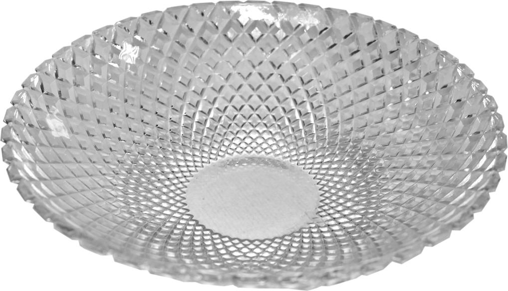 Блюдо Patricia, цвет: прозрачный, диаметр 26 см цена