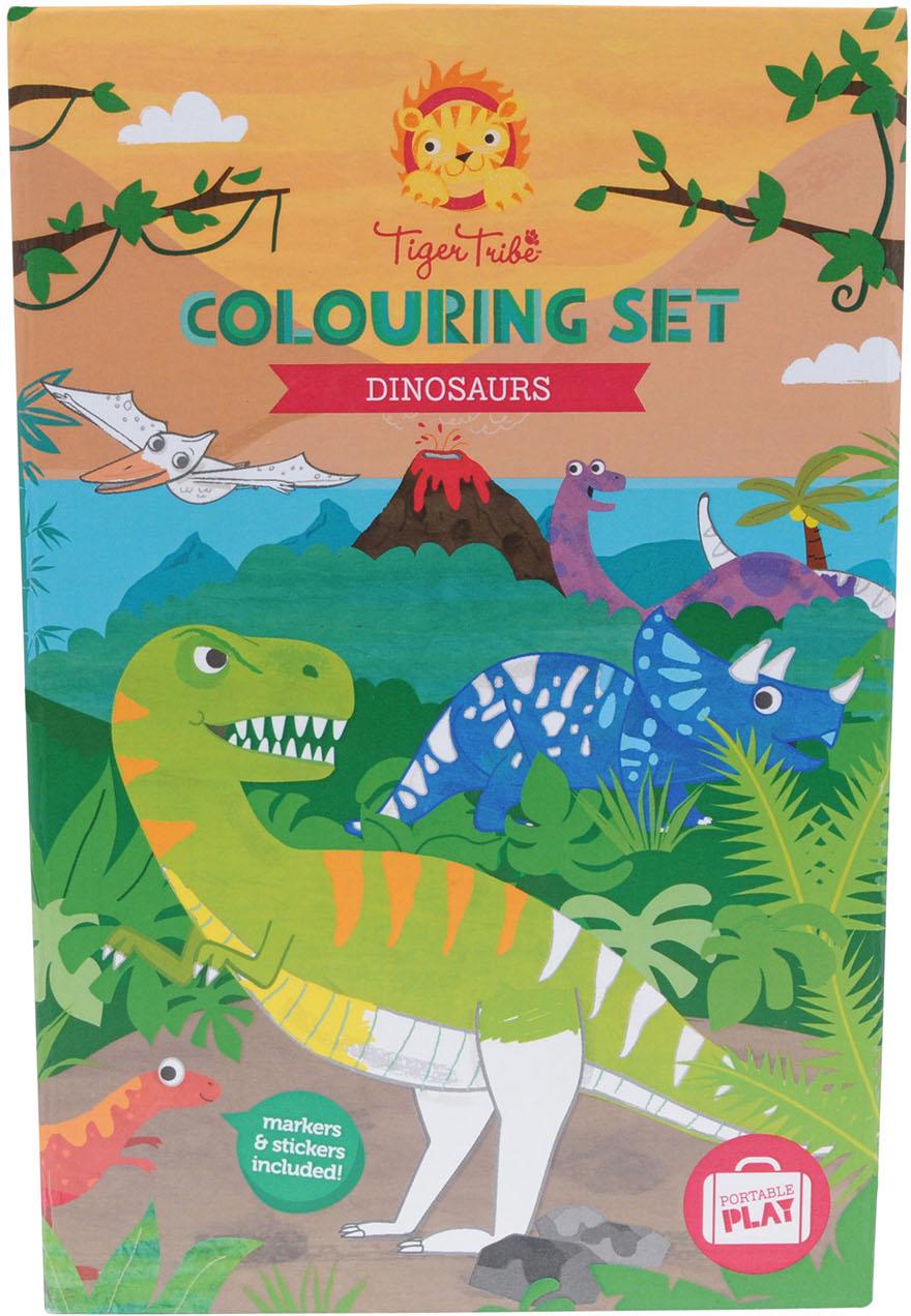 Tiger Tribe Набор для рисования Динозавры