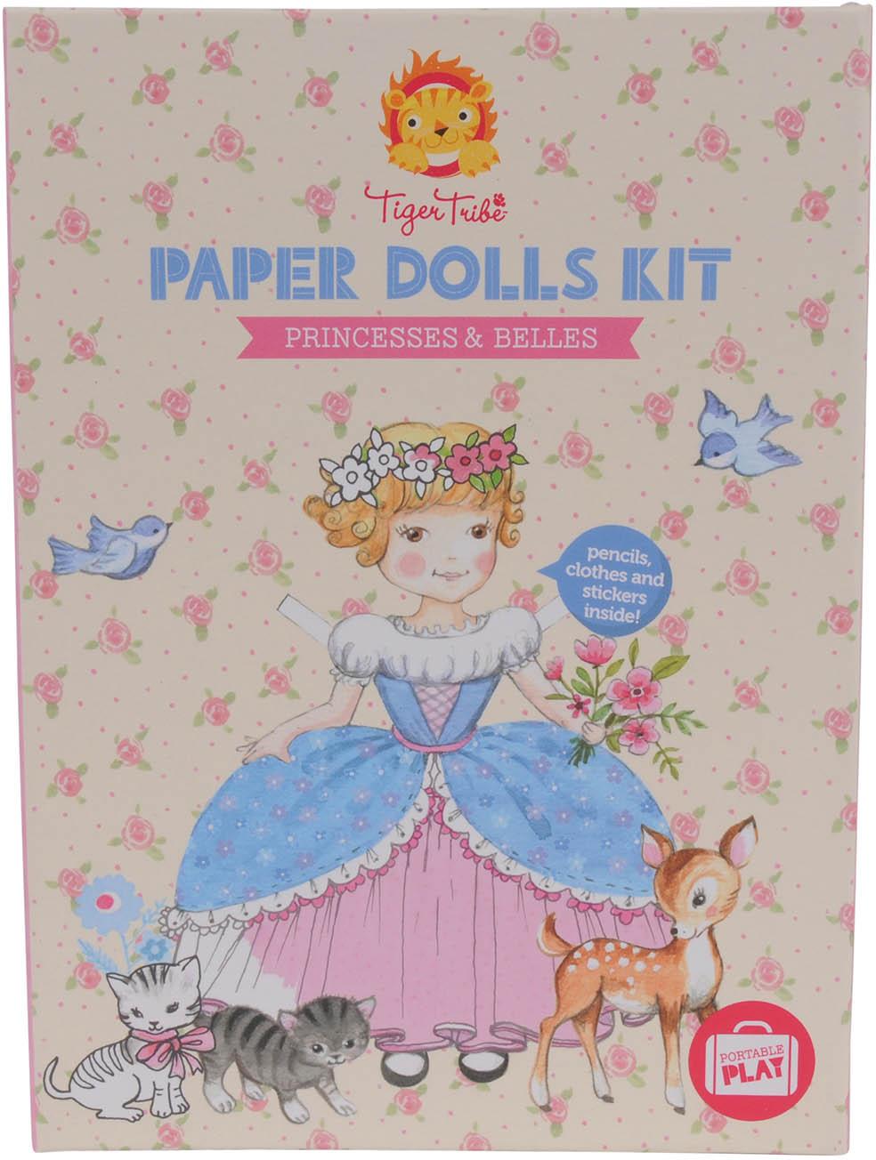 Tiger Tribe Игровой набор с бумажными куклами Принцессы