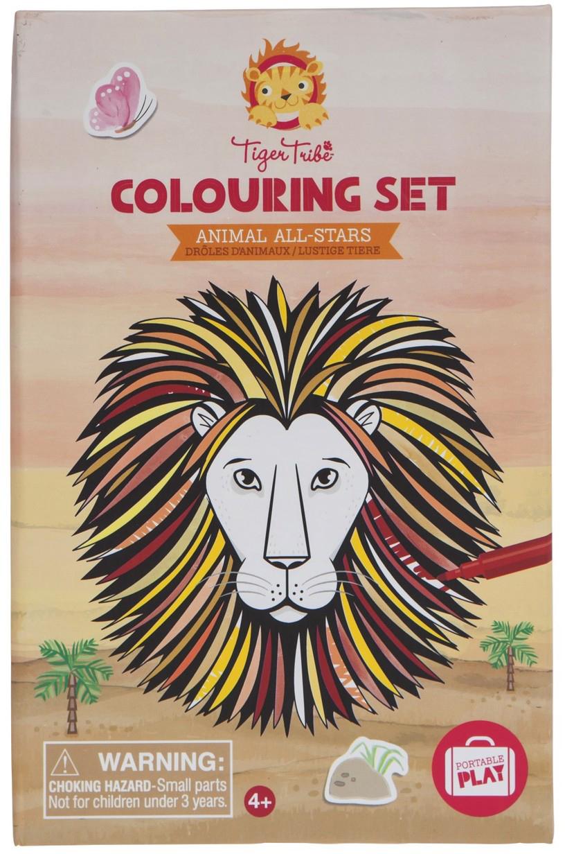 Tiger Tribe Набор для рисования Животные-звезды