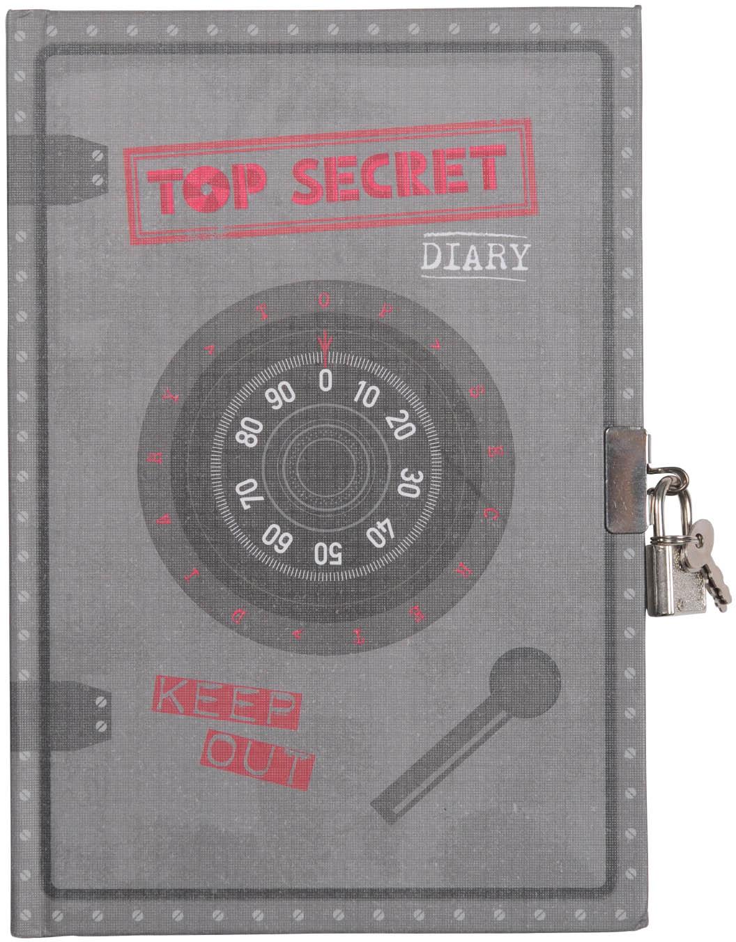 Tiger Tribe Личный дневник с замочком Совершенно секретно 60 листов
