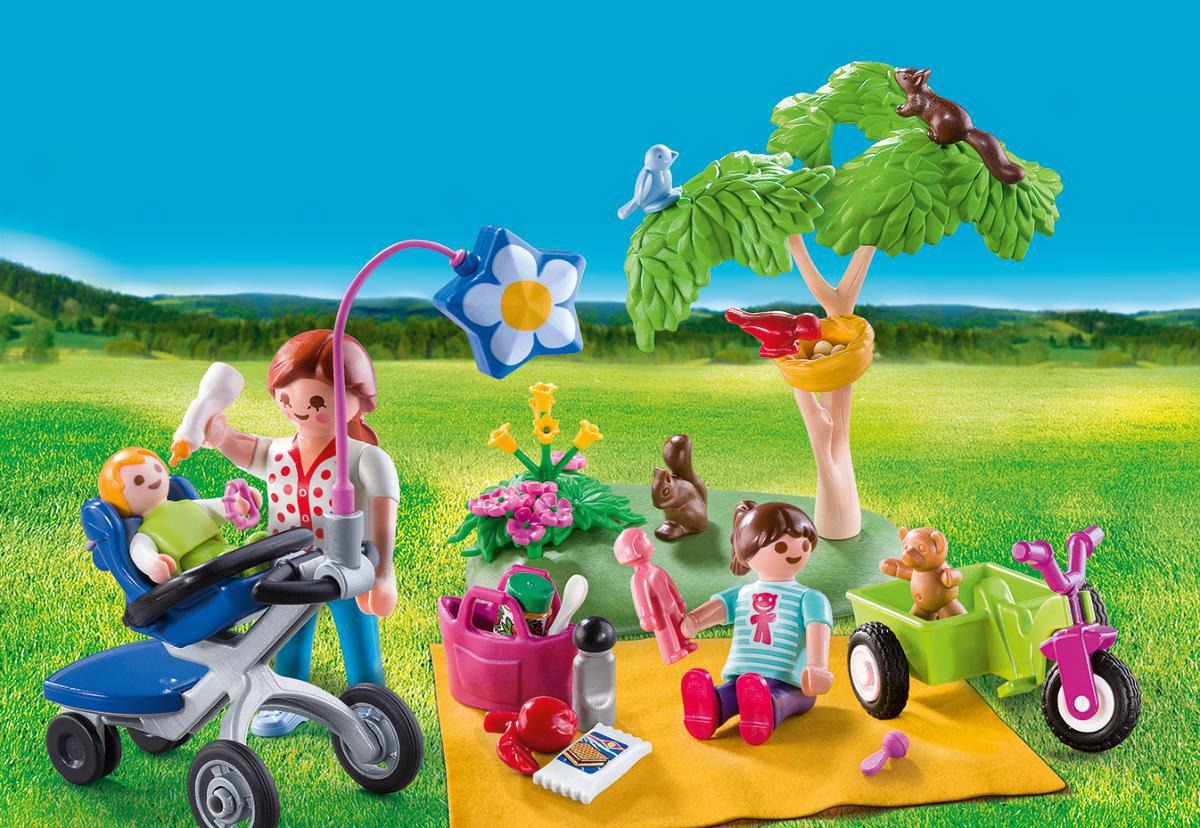 Playmobil Игровой набор Возьми с собой Семейный пикник playmobil игровой набор возьми с собой рыцарь с катапультой