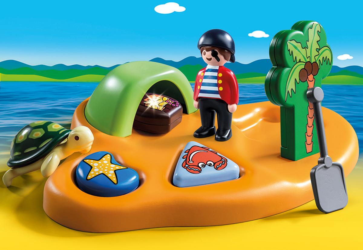 Playmobil Игровой набор Пиратский остров playmobil® пиратский тайник с сокровищами playmobil