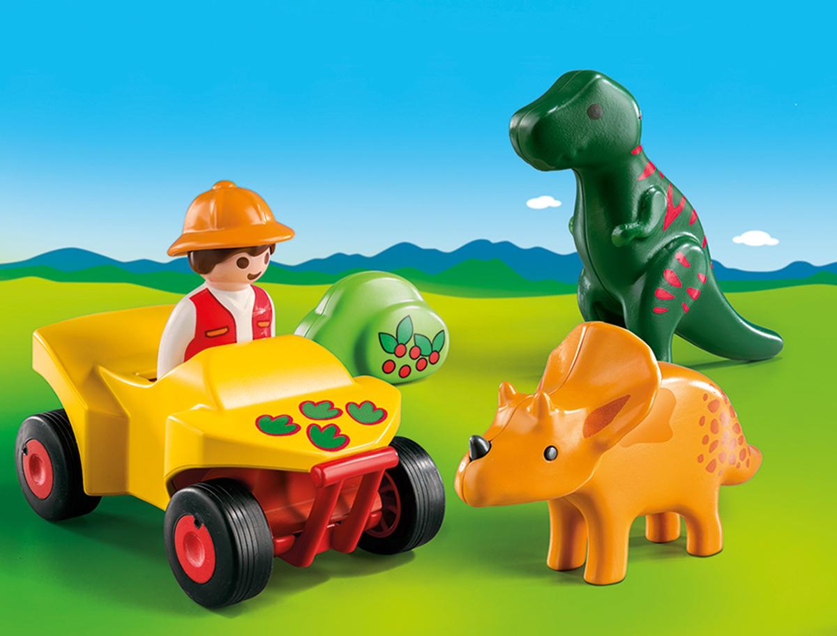 Playmobil Игровой набор Исследователь с динозаврами