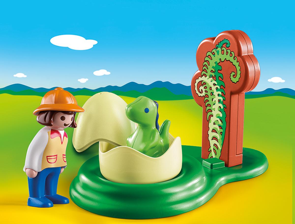 Playmobil Игровой набор Девочка и яйцо динозавра