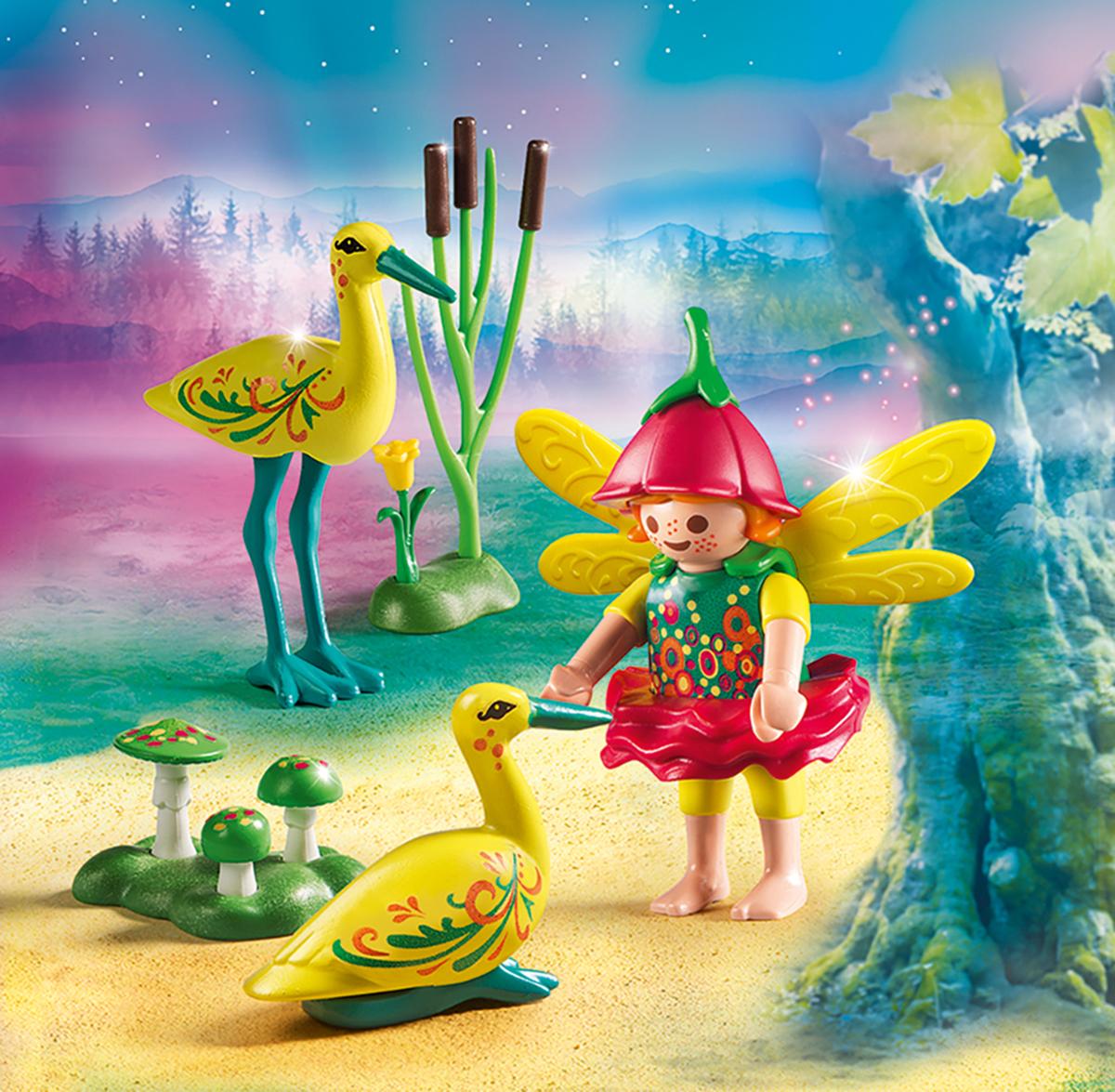 Playmobil Игровой набор Феи Девочка-фея с аистами