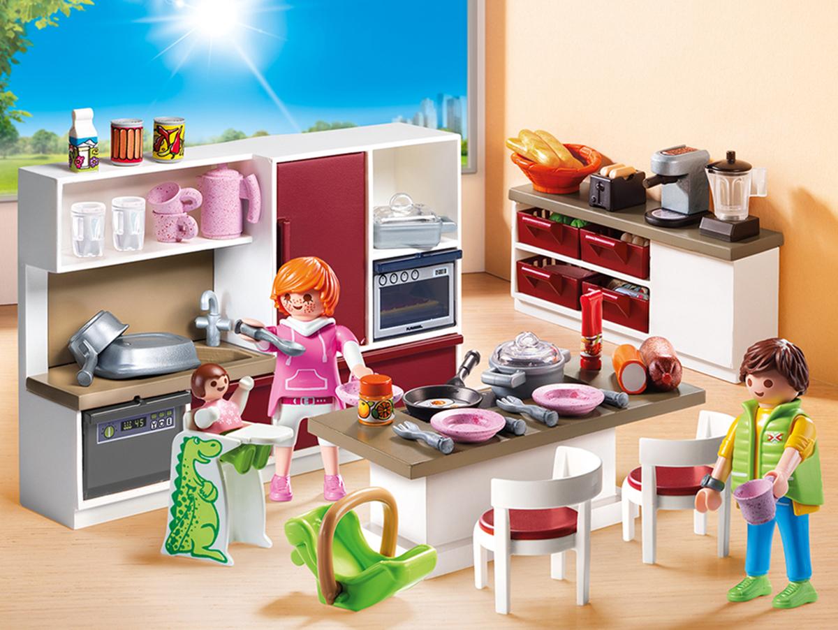 Playmobil Игровой набор Кукольный дом Кухня
