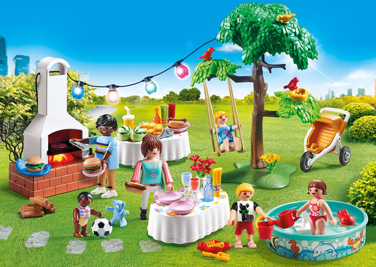 Фото - Playmobil Игровой набор Кукольный дом Новоселье playmobil кукольный дом детская комната с люлькой 5304
