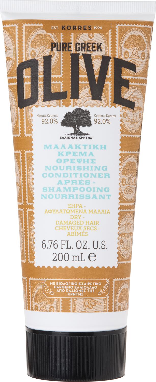 Korres Греческая Олива Кондиционер питательный для сухих и поврежденных волос, 200 мл