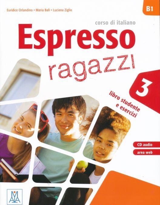 Espresso Ragazzi. Libro studente e esercizi + CD audio 3 orlandino euridice ziglio luciana bali maria espresso ragazzi 3 libro cd audio