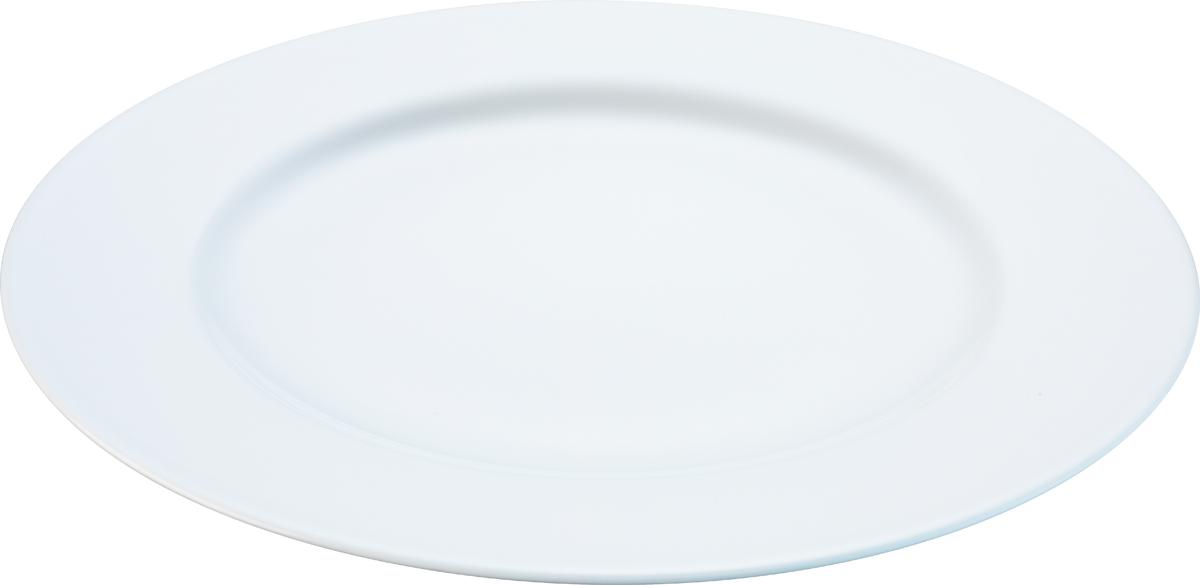 Набор обеденных тарелок LSA Dine, цвет: белый, диаметр 27 см, 4 шт сахарница lsa dine цвет белый