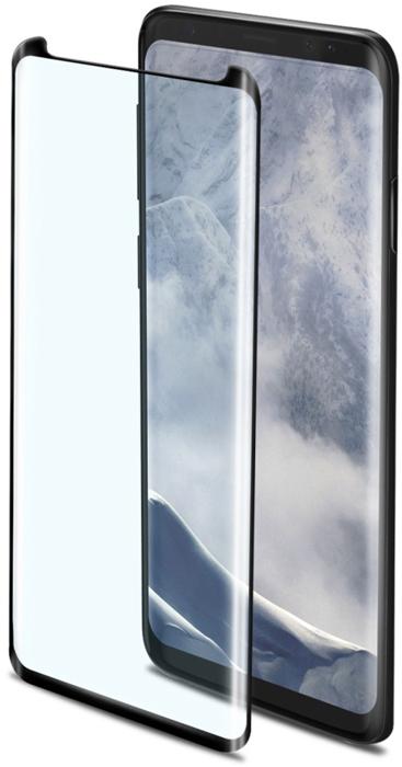 Защитное стекло Celly 3D Glass для Samsung Galaxy S9+, Black защитное стекло smartbuy sbtg 3d0013 для samsung galaxy s8 3d 0 33 мм полное покрытие экрана с рамкой черный