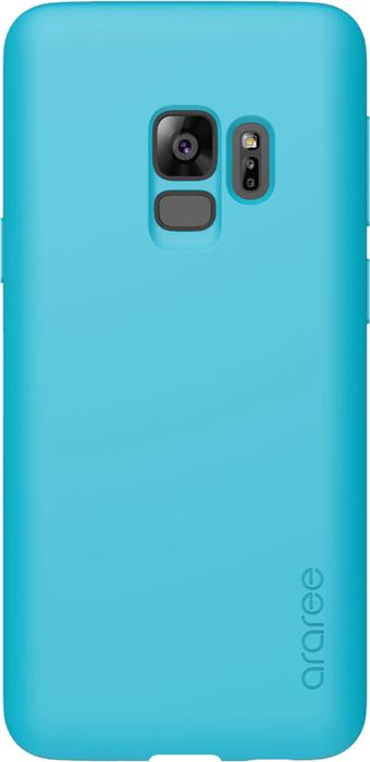 Araree Airfit Pop чехол для Samsung Galaxy S9, Blue противоскользящий мягкий чехол для смартфона