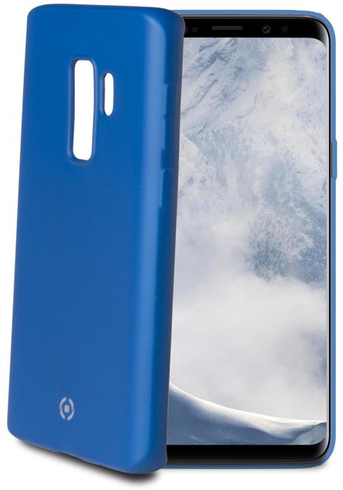 Celly Soft Matt чехол для Samsung Galaxy S9+, Blue