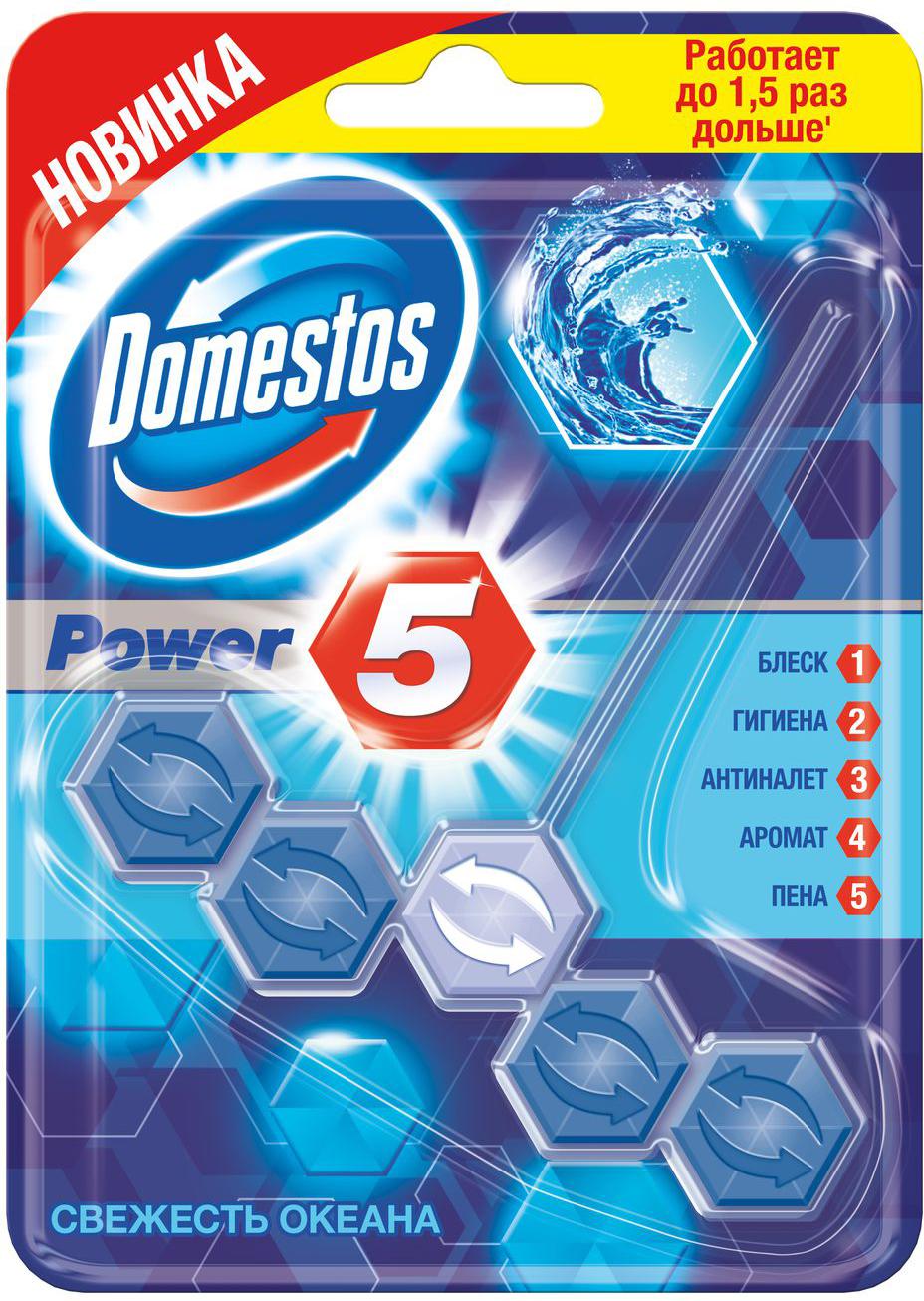 цены Блок для очищения унитаза Domestos