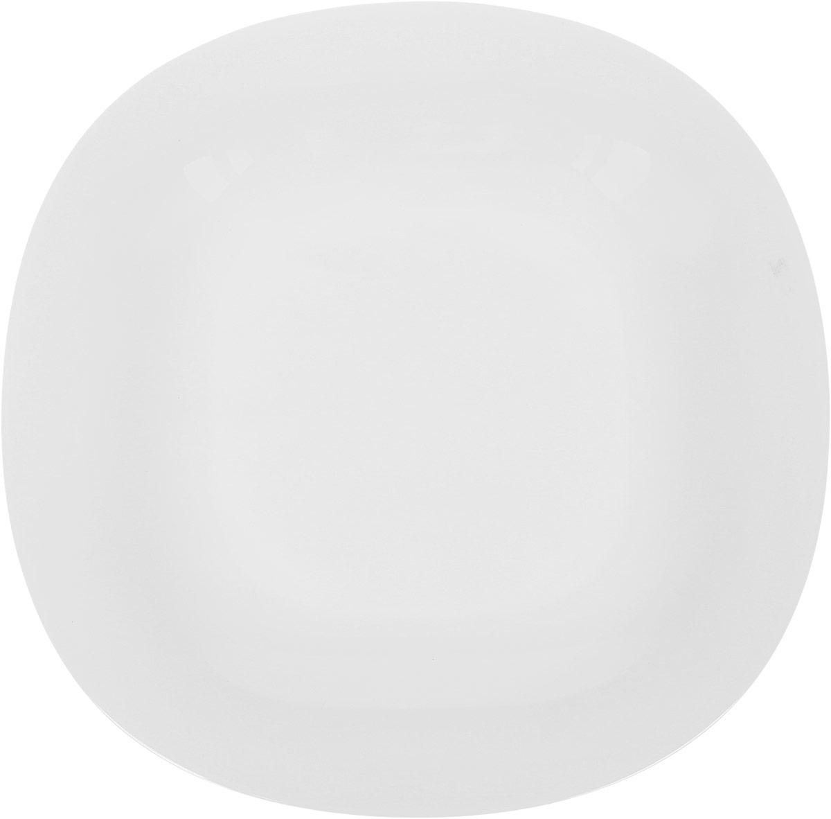 Тарелка обеденная Luminarc Carine White, 26 х 26 см салатник luminarc carine white диаметр 12 см
