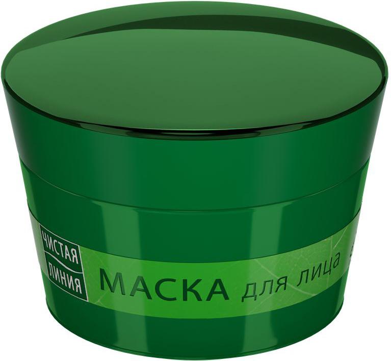 Чистая Линия Маска для лица Антивозрастная, 45 мл